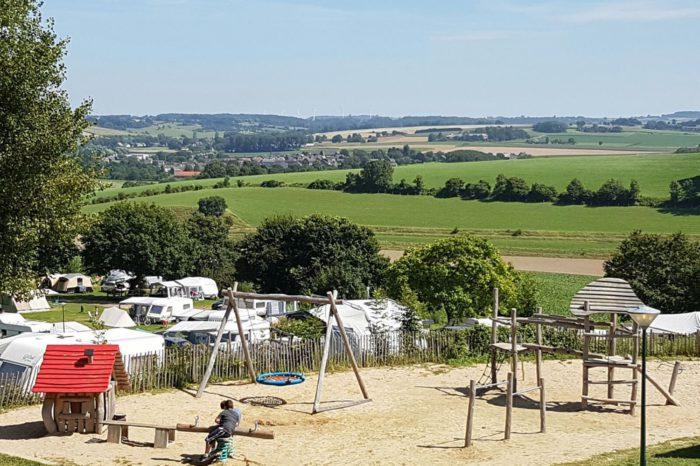 Panorama Camping Gulperberg, Limburg, Nederland